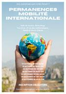 Affiche permanences mobilité internationale