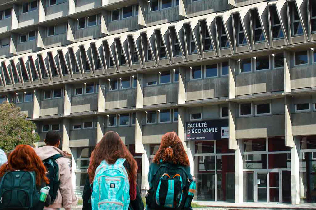 Bâtiment Économie-Gestion à Grenoble