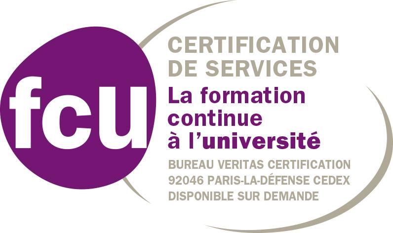 Certification FCU pour la formation continue de la Faculté d'économie de Grenoble