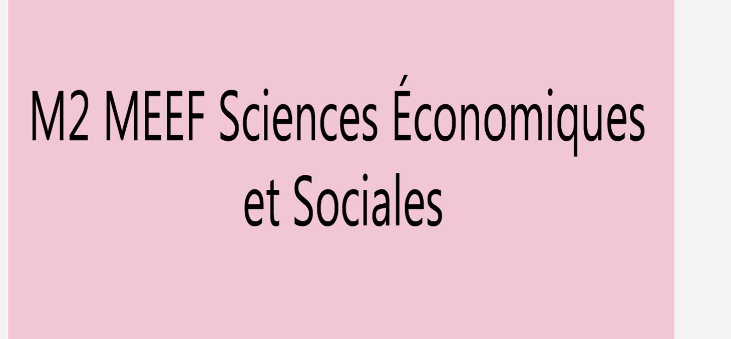 master 2 enseignement sciences sociales grenoble